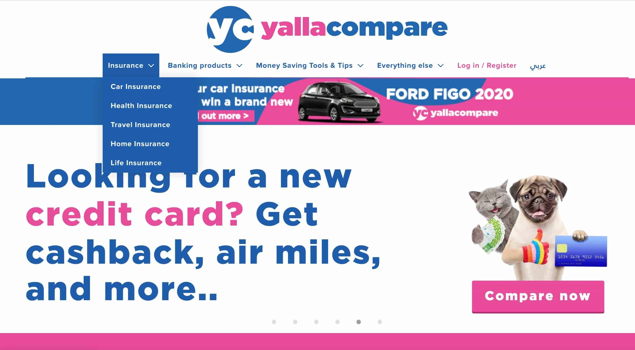 Yallacompare Insurance Products