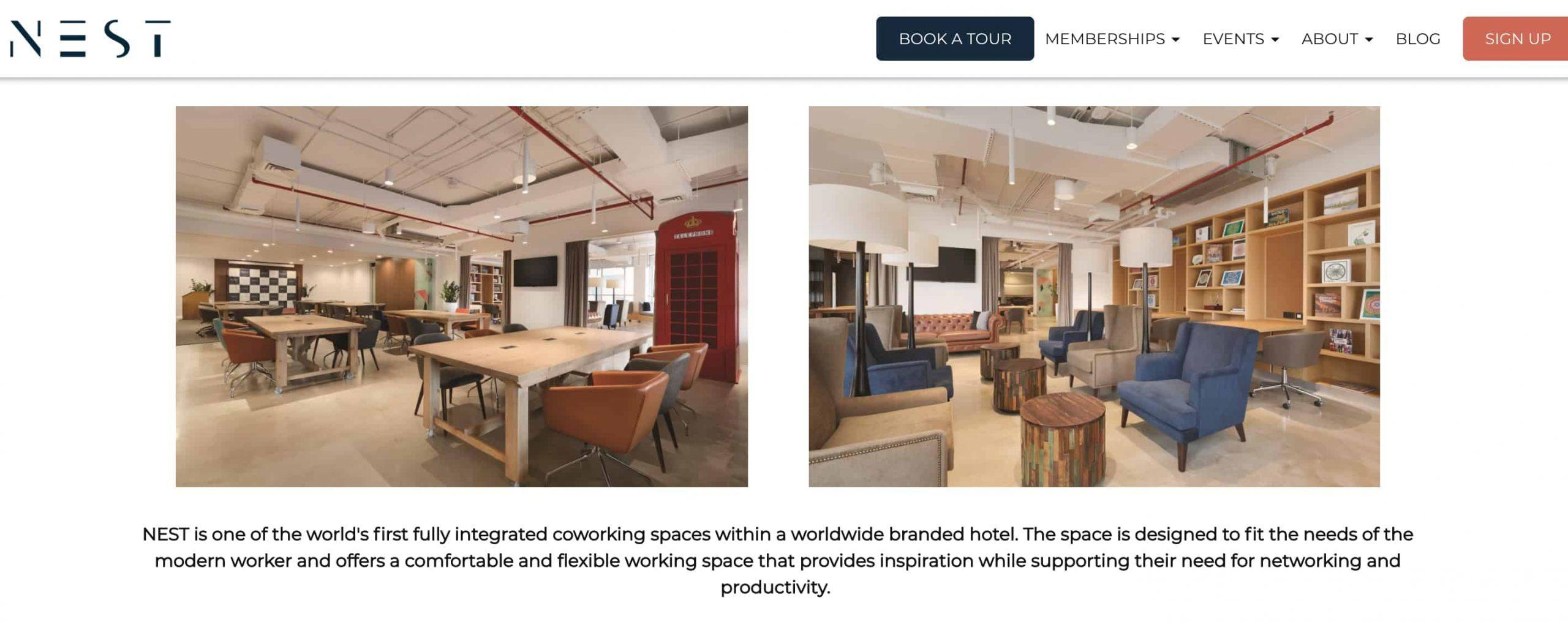 NEST Coworking space Dubai