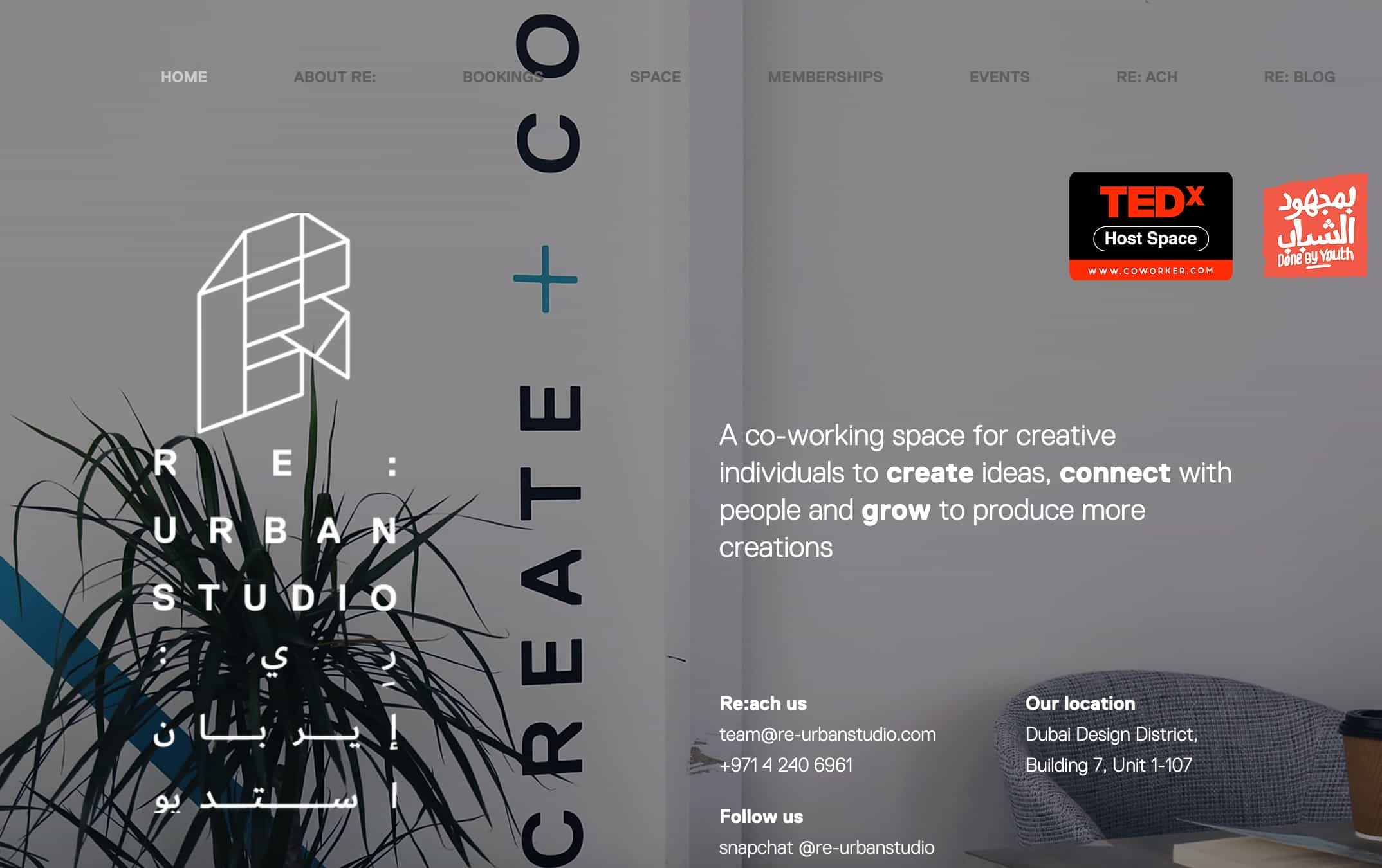 Re-Urban Studio Coworking Space Dubai