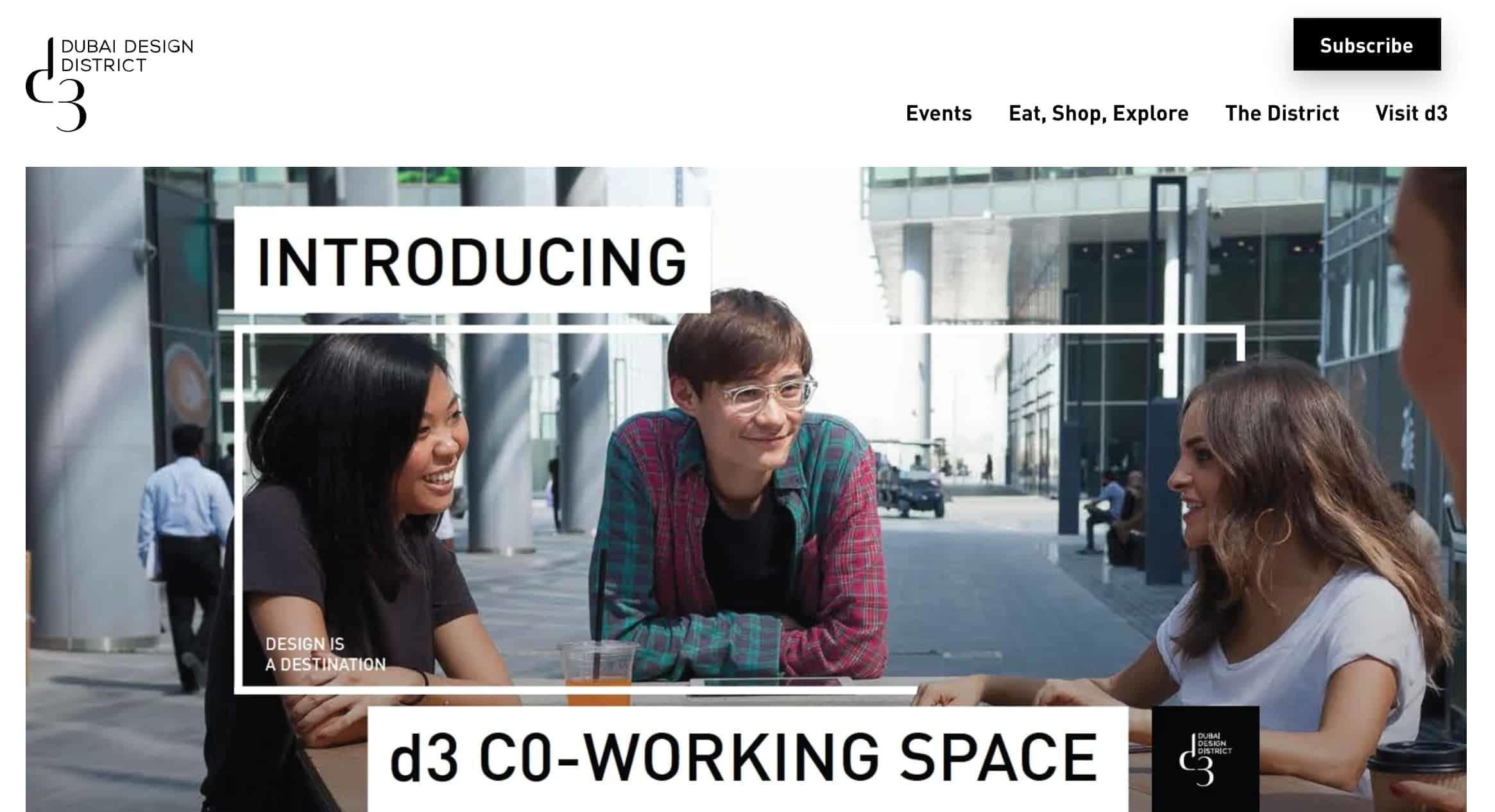 d3 Coworking Space Dubai