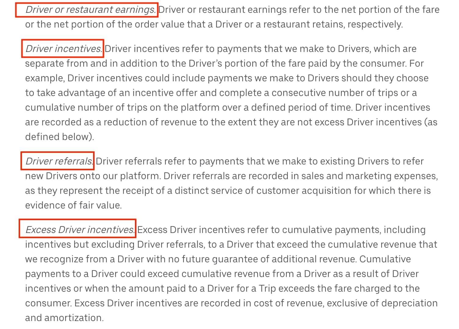 Uber Eats Dubai driver incentives