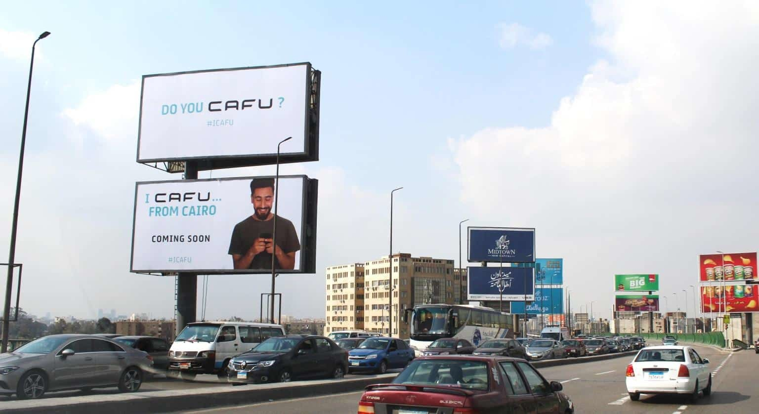 Cafu Billboard in Egypt
